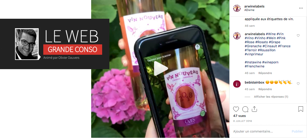 Wine fair: start-up is looking for sellers to try out AR Wine labels